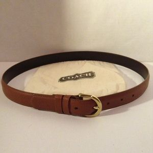 COACH - NEW leather belt